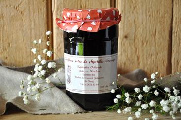 Confiture de Myrtille Sauvage - 750gr