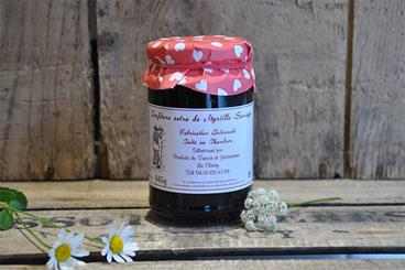 Confiture de Myrtille Sauvage - 445gr
